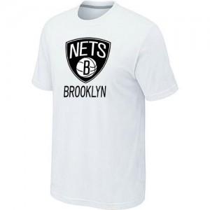 T-Shirts NBA Big & Tall Brooklyn Nets Blanco - Hombre