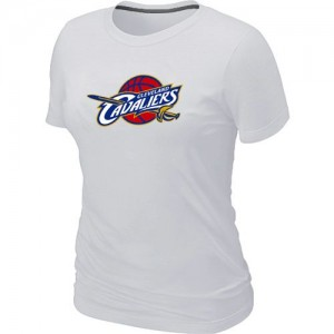 T-Shirt Primary Logo Mujer NBA Cleveland Cavaliers Big & Tall Blanco