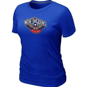 T-Shirt Primary Logo Mujer NBA New Orleans Pelicans Big & Tall Azul