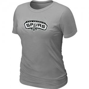 Mujer T-Shirts San Antonio Spurs Big & Tall Gris