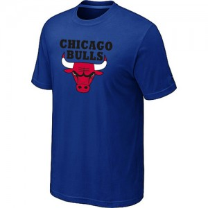 T-Shirt Hombre NBA Chicago Bulls Big & Tall Azul