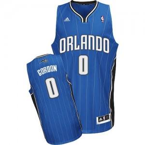 Camiseta NBA Orlando Magic Aaron Gordon #0 Road Adidas Azul real Swingman - Hombre