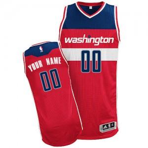 Camiseta NBA Road Washington Wizards Rojo - Adolescentes - Personalizadas Authentic