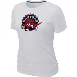Mujer T-Shirts Toronto Raptors Big & Tall Blanco