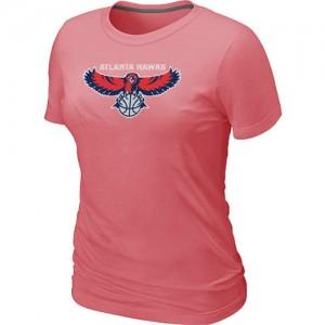 T-Shirts NBA Big & Tall Atlanta Hawks Rosado - Mujer
