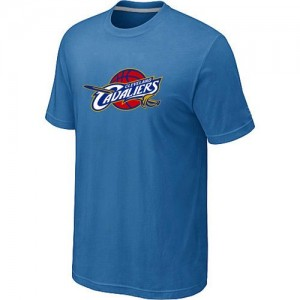 T-Shirt Primary Logo Hombre NBA Cleveland Cavaliers Big & Tall Azul claro