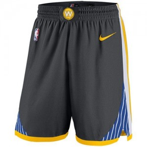 Pantalones Statement Swingman Golden State Warriors gris - Hombre