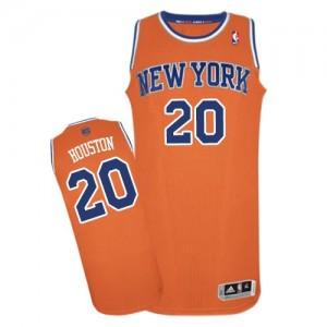 Camiseta NBA Authentic Allan Houston #20 Alternate naranja - New York Knicks - Hombre