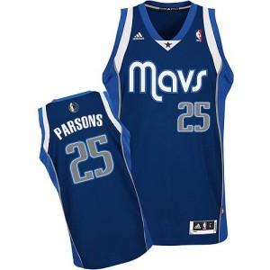 Dallas Mavericks Adidas Alternate Azul marino Swingman Camiseta de la NBA - Chandler Parsons #25 - Hombre