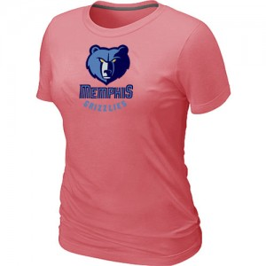 T-Shirts NBA Memphis Grizzlies Big & Tall Rosado - Mujer