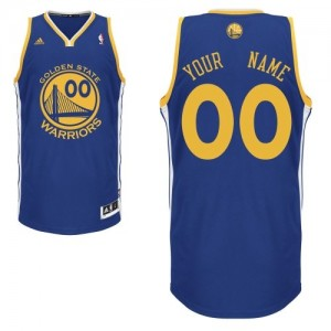 Golden State Warriors Adidas Road Azul real Camiseta de la NBA - Swingman Personalizadas - Adolescentes