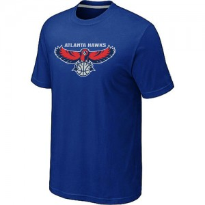 T-Shirts NBA Big & Tall Atlanta Hawks Azul - Hombre