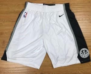 Pantalones San Antonio Spurs Blanco Swingman - Hombre