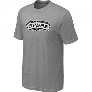 T-Shirts NBA San Antonio Spurs Big & Tall Gris - Hombre
