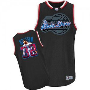 Camisetas Baloncesto Hombre NBA Los Angeles Clippers Notorious Authentic Blake Griffin #32 Negro