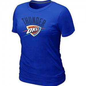 T-Shirts NBA Oklahoma City Thunder Big & Tall Azul - Mujer