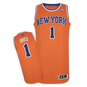 Camiseta NBA Authentic Alexey Shved #1 Alternate naranja - New York Knicks - Hombre