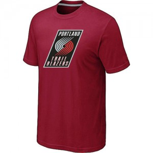 T-Shirts NBA Portland Trail Blazers Big & Tall Rojo - Hombre