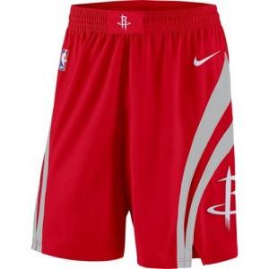 Houston Rockets rojo Icon Swingman Pantalones de la NBA - Hombre