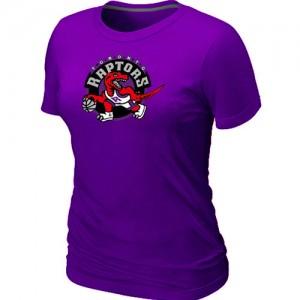 Mujer T-Shirts Toronto Raptors Big & Tall Púrpura