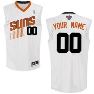Camiseta NBA Phoenix Suns Authentic Personalizadas Home Adidas Blanco - Mujer