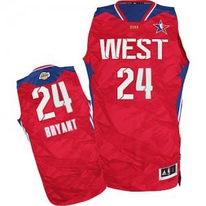 Camiseta NBA Authentic Kobe Bryant #24 2013 All Star Rojo - Los Angeles Lakers - Hombre