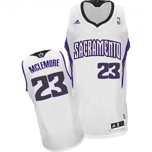 Camiseta NBA Sacramento Kings Ben McLemore #23 Home Adidas Blanco Swingman - Hombre