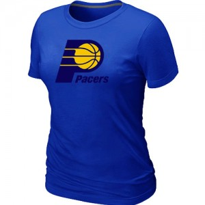 T-Shirts Indiana Pacers Big & Tall Azul - Mujer