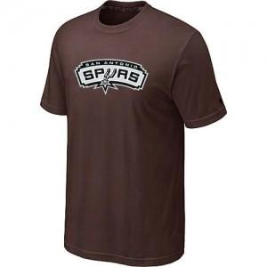 T-Shirts NBA San Antonio Spurs Big & Tall marrón - Hombre