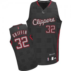 Camisetas Baloncesto Hombre NBA Los Angeles Clippers Rhythm Fashion Authentic Blake Griffin #32 Negro