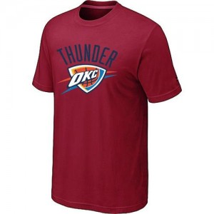 T-Shirts NBA Oklahoma City Thunder Big & Tall Rojo - Hombre