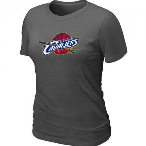 T-Shirt Primary Logo Mujer NBA Cleveland Cavaliers Big & Tall Gris oscuro