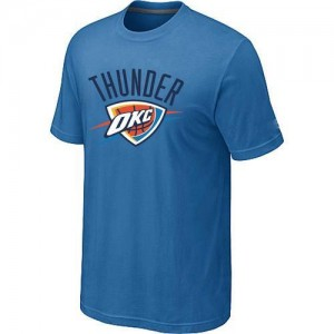 T-Shirts NBA Oklahoma City Thunder Big & Tall Azul claro - Hombre