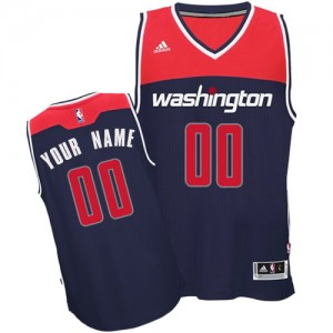 Camiseta NBA Alternate Washington Wizards Azul marino - Adolescentes - Personalizadas Authentic