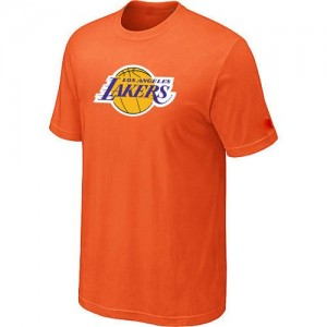 T-Shirts NBA Big & Tall naranja - Los Angeles Lakers - Hombre