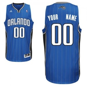Camiseta NBA Orlando Magic Swingman Personalizadas Road Adidas Azul real - Adolescentes
