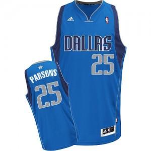 Dallas Mavericks Adidas Road Azul real Swingman Camiseta de la NBA - Chandler Parsons #25 - Hombre