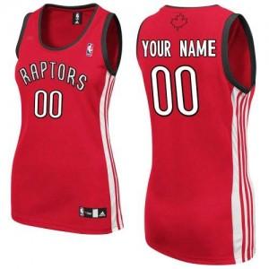 Toronto Raptors Adidas Road Rojo Camiseta de la NBA - Authentic Personalizadas - Mujer