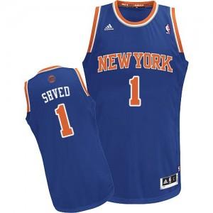 Camiseta NBA Swingman Alexey Shved #1 Road Azul real - New York Knicks - Hombre