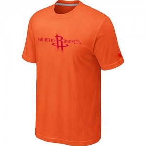T-Shirts Houston Rockets Big & Tall naranja - Hombre