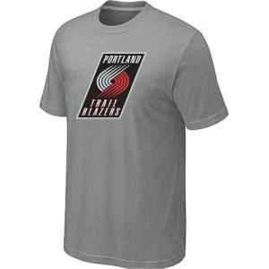 T-Shirts NBA Portland Trail Blazers Big & Tall Gris - Hombre
