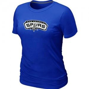 Mujer T-Shirts San Antonio Spurs Big & Tall Azul