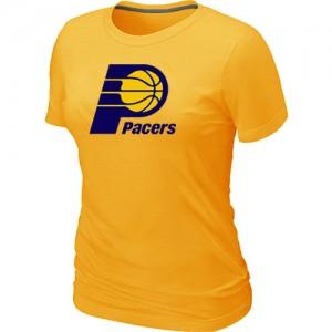 T-Shirts Indiana Pacers Big & Tall Amarillo - Mujer