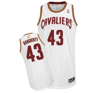 Camisetas Baloncesto Hombre NBA Cleveland Cavaliers Home Authentic Brad Daugherty #43 Blanco