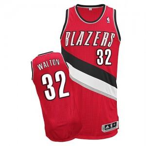 Camisetas Baloncesto Hombre NBA Portland Trail Blazers Alternate Authentic Bill Walton #32 Rojo