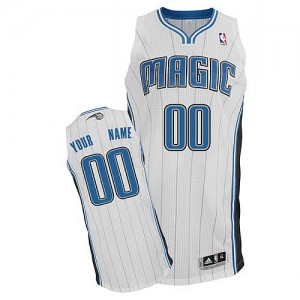 Camiseta NBA Orlando Magic Authentic Personalizadas Home Adidas Blanco - Adolescentes