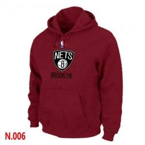 Brooklyn Nets Rojo Sudadera de la NBA - Hombre