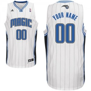 Camiseta NBA Orlando Magic Swingman Personalizadas Home Adidas Blanco - Adolescentes