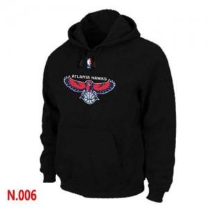 Atlanta Hawks Negro Sudadera de la NBA - Hombre
