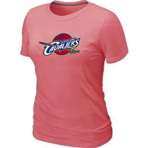 T-Shirt Primary Logo Mujer NBA Cleveland Cavaliers Big & Tall Rosado